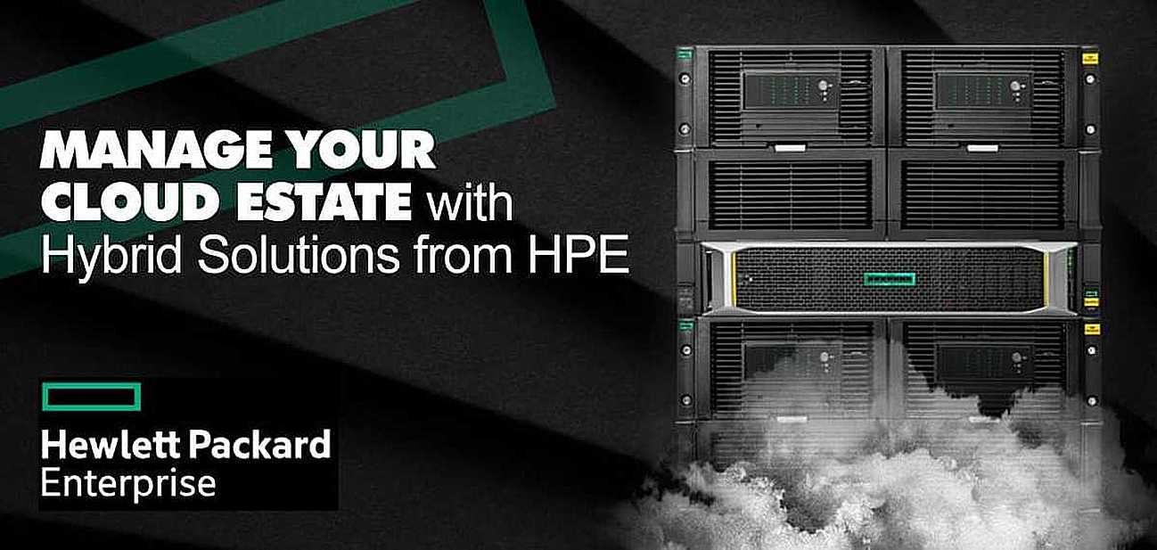 hpe hybrid cloud solution